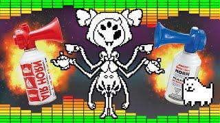 Undertale Spider Dance - MLG Airhorn Remix