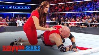 Stephanie McMahon ayuda a Triple H en WWE Survivor Series