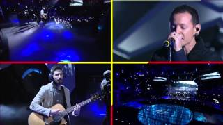 Linkin Park- Castle Of Glass live @  Culver City, CA - VGA Ten (Multicam Version)