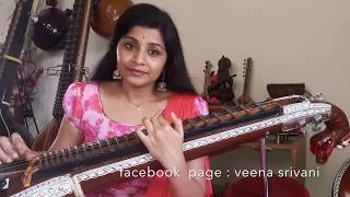 """CHENNA MEREYA"" SONG BY VEENA SRIVANI"