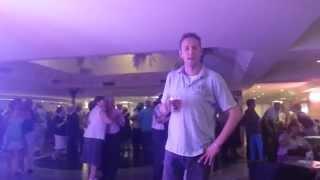 @robinrawlins solo dancing at the Fiesta Park Hotel, Benidorm.