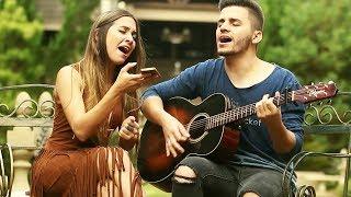 Maiara e Maraisa - Sorte Que Cê Beija Bem (Cover por Mariana e Mateus)