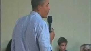 """NBC-Gate:  Barry Obama """"plugs"""" Jon Stewart rally"""