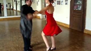 Training für Salsa Competition
