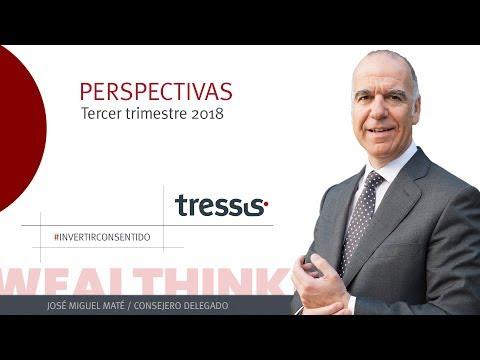 José Miguel Maté, Consejero Delegado de Tressis, nos avanza su visión para el tercer trimestre de 2018.