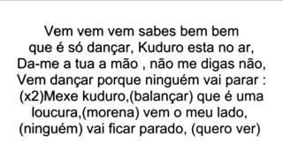 Lucenzo Vem Dancar Kuduro [Radio Version][Lyrics]