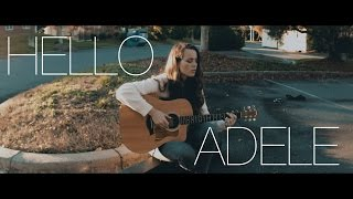 """""""Hello"""" from the road - Raw One-Take Cover - Adele"""