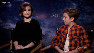 """Deaf actress delivers powerful performance in horror movie """"A Quiet Place"""" - KING 5 Evening"""