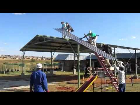 Hasselbrings Building Tabernacles in South AFrica