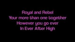 Ever After High Theme Song Lyrics (Short Version)