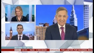 Dennis Kucinich on BBC to discuss democratic party's purpose 2020