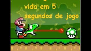 Super Mario - Como ganhar vida em 5 segundos de jogo