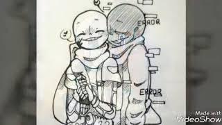 Error sans x Ink sans