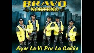 Ayer La Vi Por La Calle-Autentico Bravo Norteño