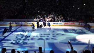 Go Leafs Go - Intro Song Joker and the Thief 2013 Playoffs Game 3 vs. Bruins
