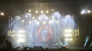 Guns N' Roses - end of the show in Lisbon 2017