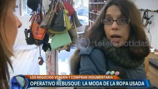 La moda de la ropa usada -Telefe Noticias