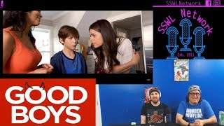 Good Boys Red Band Trailer Reaction | SSWL Ep. 307 - Clip