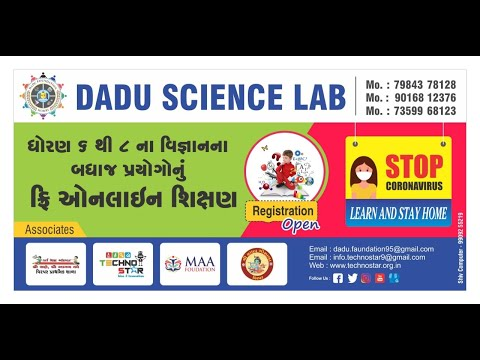 Demo lecture of experiential learning of science kit