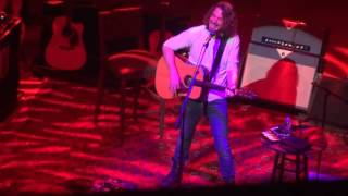 Chris Cornell - One(Metallica Lyrics + U2 melody cover) Live 02/05/16 Birmingham Symphony Hall