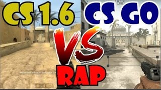 CS 1.6 VS CS GO RAP ¿Quien gana? By Sudorfrio Alias Krone / Video Counter Strike Rap