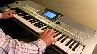 OMD - Enola Gay - Live Instrumental Remix on Yamaha - Piotr Zylbert (HD)