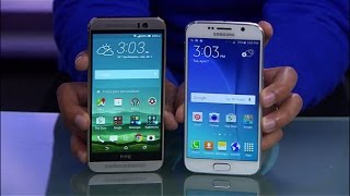Samsung Galaxy S6 vs. HTC One M9: ¿cuál es mejor celular Android?