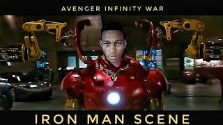 Avenger infinity war iron-man suit up edit on Kinemaster