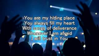 YOU ARE MY HIDING PLACE with Lyrics