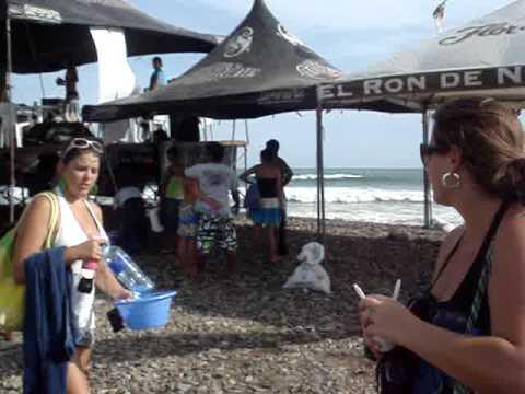 Nicaragua — Surf Competition at Astillero– Shaka vs. Bueyes