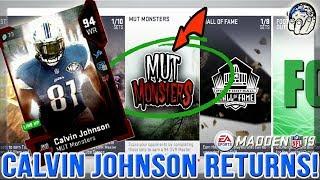 f063e0045 Madden 19 MUT MONSTER Calvin Johnson RETURNS!   Madden 19 Ultimate Team
