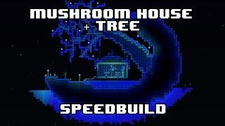 [SPEEDBUILD] - Terraria Mushroom House + Tree!