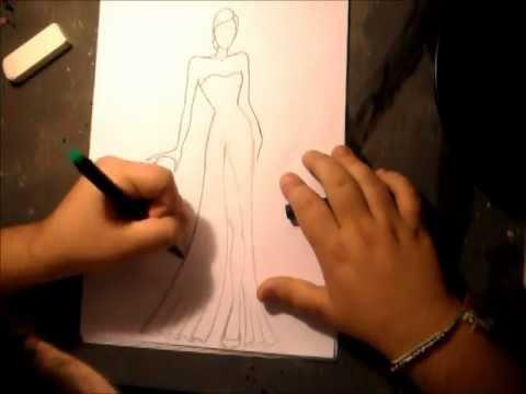 come disegnare la moda