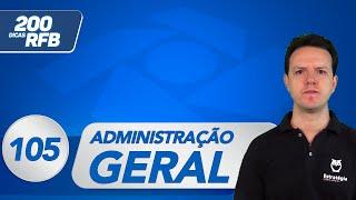 Administração Geral - Princípios de Governança Corporativa   Dica 105 - Receita Federal