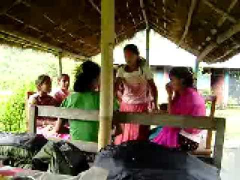Dashain Festival dancing