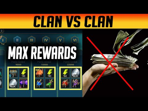 CLAN WARS GET MAX REWARDS EVERY TIME! | Raid: Shadow Legends