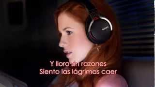Katy B - Crying for no reason (Sub. Español)