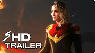 CAPTAIN MARVEL (2019) First Look Trailer - Brie Larson Marvel Movie [HD] Concept width=