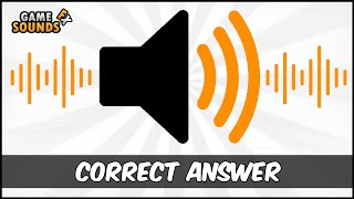 Correct Answer - Sound Effect [HD]