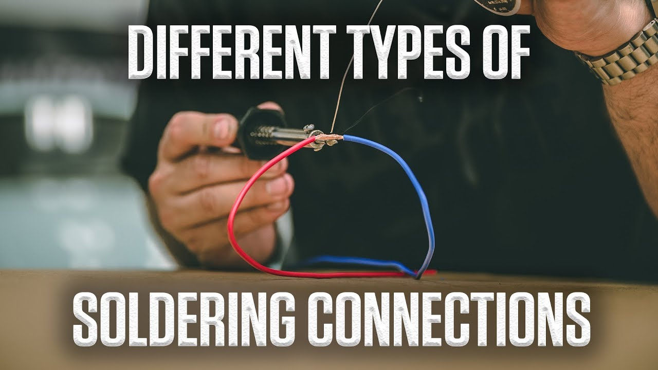 DIY: How to solder your wiring connections like a professional