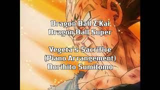 Dragon Ball Z Kai Vegeta's Sacrifice Piano Norihito Sumitomo Cover
