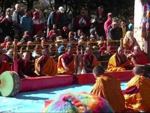 Procession and Long Life Ceremony in Tengboche