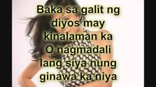 Kahit na Lyrics  by toni gonzaga