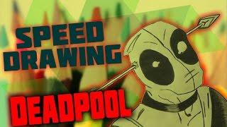 Speed Drawing #3 - DEADPOOL