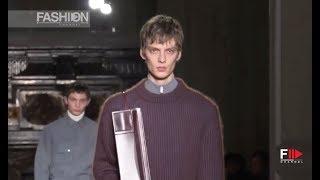 JIL SANDER Highlights Fall 2019 2020 Menswear Paris - Fashion Channel