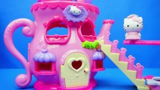 Hello Kitty 凱蒂貓 茶壺房子玩具