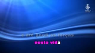 ♫ Karaoke TENHO FÉ EM DEUS - Maria Lisboa
