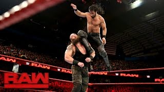 Seth Rollins vs. Braun Strowman: Raw, Dec. 26, 2016