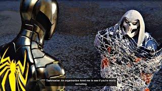 Spider-Man PS4 - Taskmaster Secret Boss Fight (Marvel's Spiderman 2018) PS4 Pro