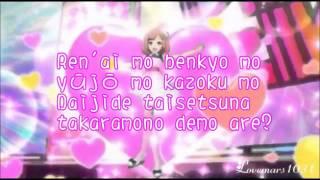 Pretty Rhythm Rainbow Live - Naru - Hato Iro Toridori Mu - Lyrics Full